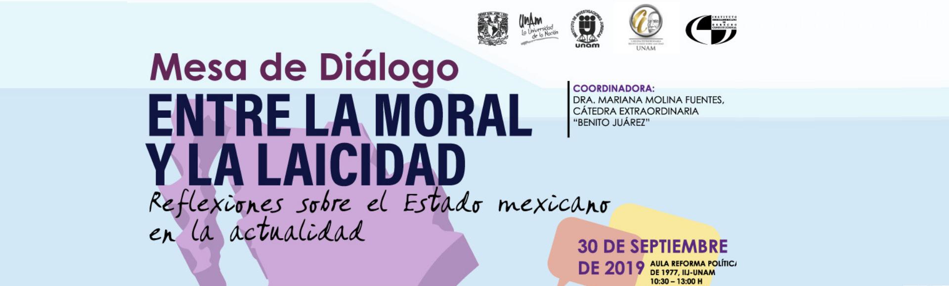 Entre la moral y la laicidad