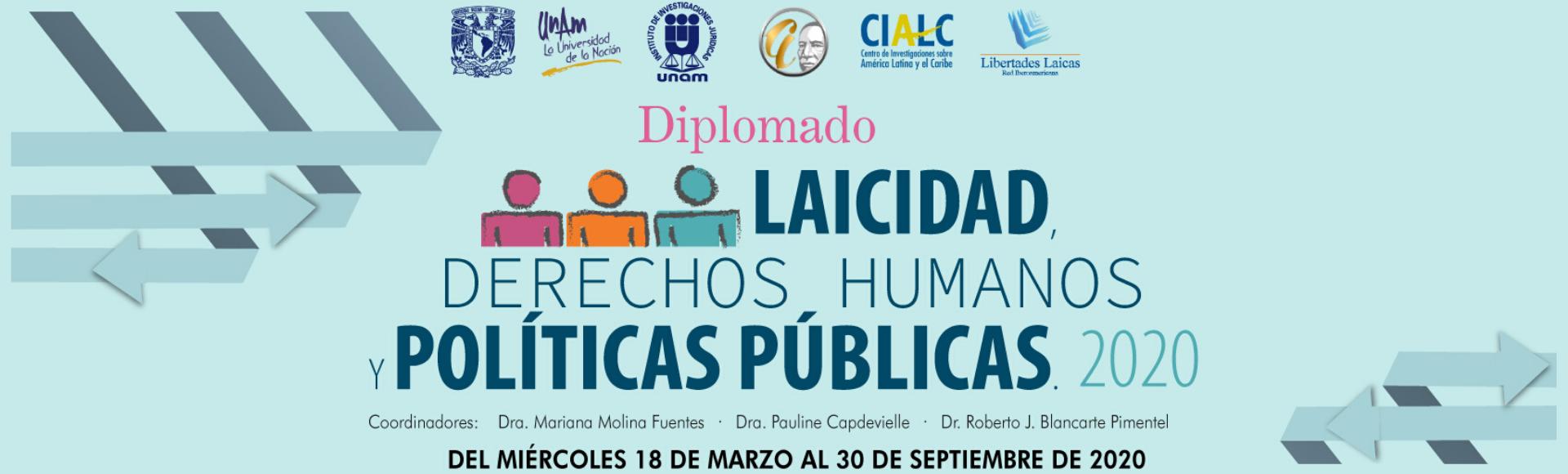 Diplomado Laicidad, Derechos Humanos y políticas públicas
