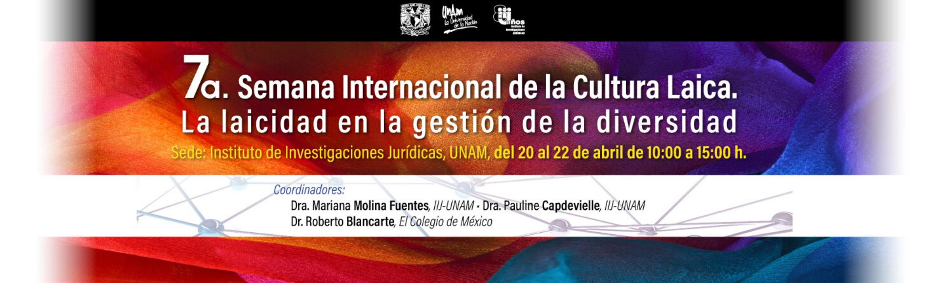 7a Semana internacional de la Cultura Laica