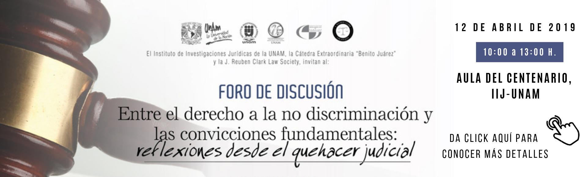 Entre el derecho a la no discriminación y las convicciones fundamentales: reflexiones desde el quehacer judicial